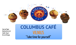 Columbus Café marketing plan