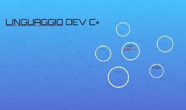 LINGUAGGIO DEV C+