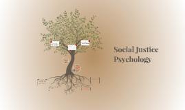 Social Justice Psychology
