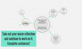 Relationship Movie Reflection