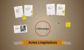 Actos lingüisticos
