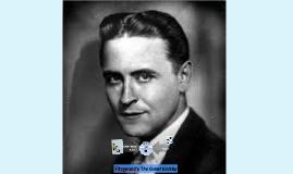 Fitzgerald & Gatsby- Informative Speech Presentation Model