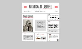 PARADIGMA DE LASSWELL