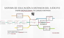 SISTEMA DE EDUCACIÓN A DISTANCIA DEL EJÉRCITO