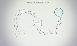 Taller de Bases de Datos Unidad1