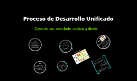 Copy of Proceso Unificado de Desarrollo de Software