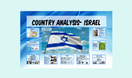 Country Analysis- Israel