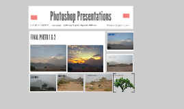 Copy of Photoshop Presentations