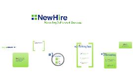 NewHire Presentation