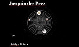 Copy of Josquin des Prez