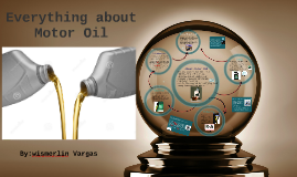 Everything about motor oil