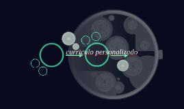 curriculo personalizado