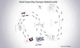 Small Steps Big Changes website build