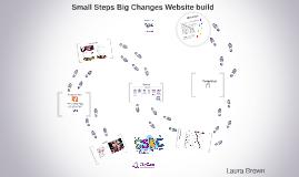 Small Steps Big Changes website build