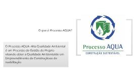 Certificação AQUA