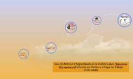 Copy of Guía de Atención Integral Basada en la Evidencia para Hipoac