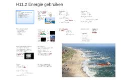 H11.2 Energie gebruiken