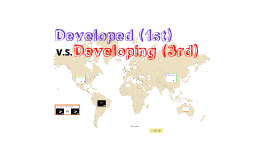 Developed VS Developing Countries 2015