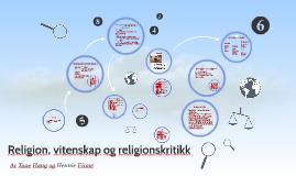 Religion, vitenskap og religionskritikk