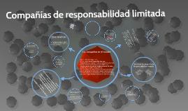 Compañías de responsabilidad limitada