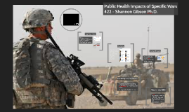 422 - Public Health Impacts of Specific Wars