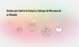 Sistema para Control de Compras y Entregas de Mercancía de u