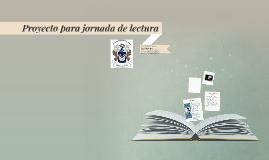 Proyecto para jornada de lectura