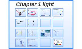 Chapter 1 Light
