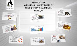 AS&CON-SST ASESORIA Y CONSULTORIA EN SEGURIDAD Y SALUD EN EL