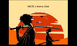 MCTC's Anime Club