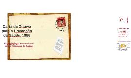 Copy of Carta de Ottawa para a Promoção da Saúde, 1986