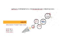 AGÊNCIA EXPERIMENTAL EM PUBLICIDADE E PROPAGANDA