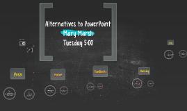 Alternatives to PowerPoint