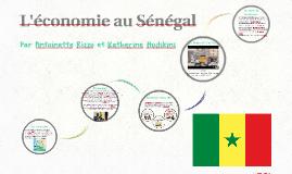 L'économie au Sénégal
