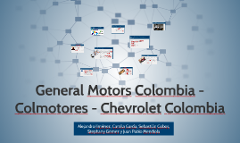General Motors Colombia - Colmotores - Chevrolet Colombia