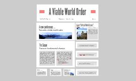 Viable World Order