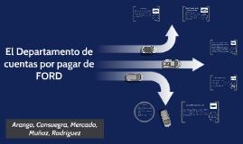 Copy of El Departamento de cuentas por pagar de Ford