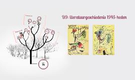 D9: literatuurgeschiedenis 1945-heden