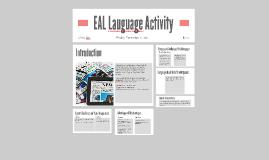 EAL Lauguage Activity