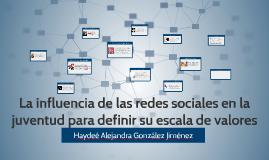 La influencia de las redes sociales en la juventud para defi