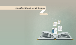 Handling Employee Grievance