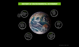 HISTORY OF ENVIRONMENTAL MOVEMENT