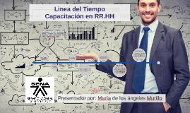 Linea del Tiempo Capacitación en RRHH