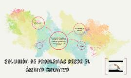 solución de problemas desde el ámbito creativo