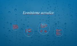 Ecosisteme acvatice