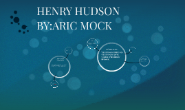 HENRY HUDSON BY:ARIC MOCK