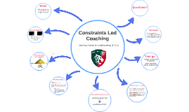 Constraints Led Coaching