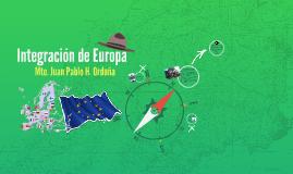 Integración de Europa