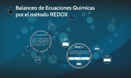 Balanceo de Ecuaciones Químicas por el método REDOX