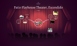 Patio Playhouse Theater, Escondido By On Prezi